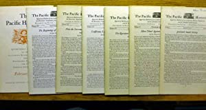 The Pacific Historian - 7 issue listing - Vol 1 No. 3 - August 1957 - Vol 2 No 4 - November 1958 ...