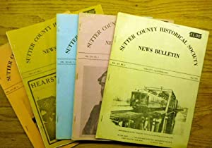 Sutter County Historical Society News Bulletin, 5 Issues between January 1974 and July 1977