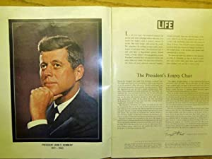 John F. Kennedy - Memorial Edition - Including His Most Enduring Words - Life Magazine