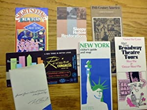 18 Items - New York Area - from about 1970 - travel ephemera
