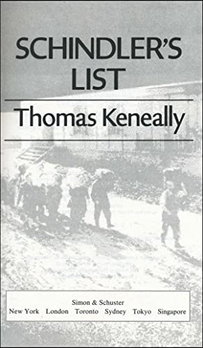 how good can overcome evil in schindlers list a novel by thomas keneally Buy schindler's list touchstone ed by thomas keneally then you can start reading kindle books on your oskar schindler is a classic keneally character.