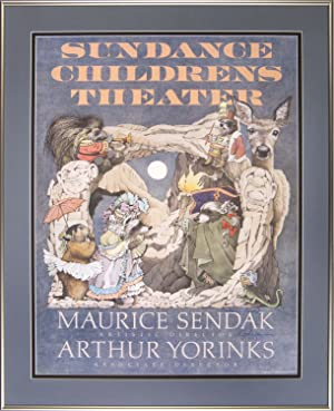 Sundance Children's Theater: [Framed poster signed by Maurice Sendak and Arthur Yorinks]