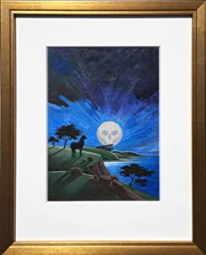 Moonblind: Original Painting + First Edition [2 items]