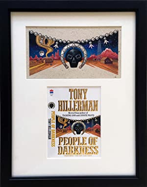 People of Darkness: Original Painting plus HarperCollins Paperback edition [2 items]