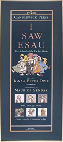 I Saw Esau: Framed poster for the book