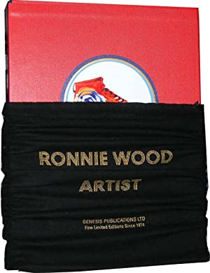 Ronnie Wood: Artist [DELUXE Edition with framed Ronnie & Charlie Watts signed giclee print]
