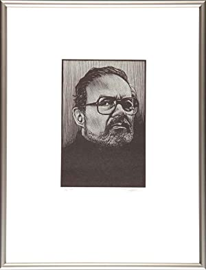 Maurice Sendak: Portrait (Signed framed)