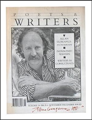 Poets & Writers: Vol. 18 Issue 6: Allan Gurganus: Gurganus, Allan