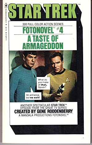 A Taste of Armageddon: Star Trek Fotonovel # 4