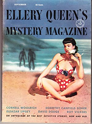 Ellery Queen's Mystery Magazine September 1953, Vol. 22 No. 118