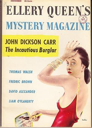 Ellery Queen's Mystery Magazine Nov. 1956, Vol.: Queen, Ellery (editor)