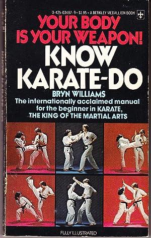 Know Karate-Do: Williams, Bryn