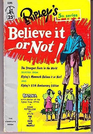 Ripley's Believe it or Not! 5th Series: Ripley, Robert