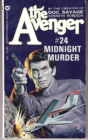 Midnight Murder, the Avenger #24: Robeson, Kenneth