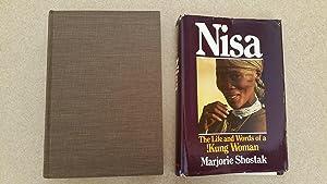 Marjorie Shostak Nisa Life Words Kung First Edition Abebooks