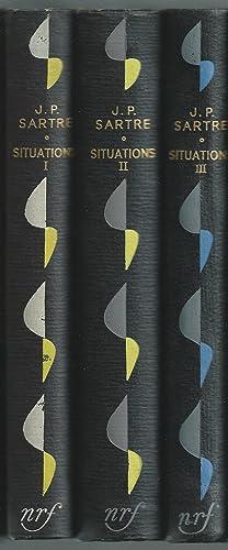 Situations I, II, III NRF 1947-49: Jean-Paul Sartre