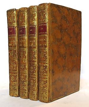 Emile, ou de l'éducation. Par J.J. Rousseau,: ROUSSEAU (Jean-Jacques).