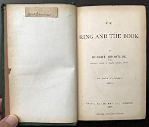 The Ring and the Book.: BROWNING, Robert (1812-1889).