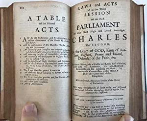 The Acts Made in the First Parliament of Our most High and Dread Soveraign, Charles the First . . ....