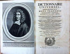 Dictionnaire Universel, Contenant generalement tous les Mots François tant vieux que ...