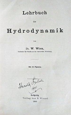 Lehrbuch der Hydrodynamik.: WIEN, Wilhelm (1864-1928).