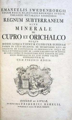 Opera philosophica et mineralia]: [I]: Principia Rerum: SWEDENBORG, Emanuel.