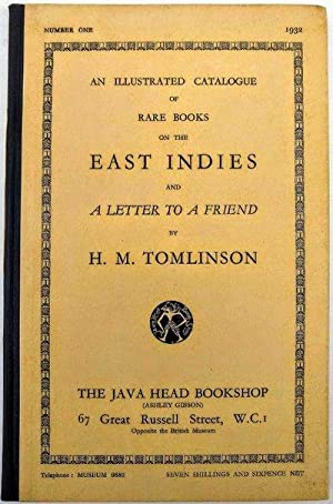 An Illustrated Catalogue of Rare Books on: Java Head Bookshop.