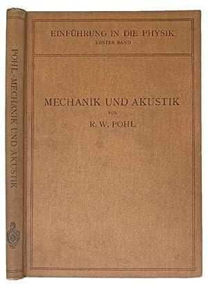 073eff6b Einfuhrung in die mechanik und akustik.: POHL, Robert Wichard