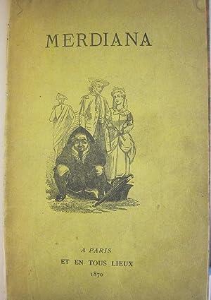 Le Nouveau Merdiana ou Manuel scatologique par: MERDIANA].