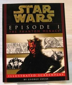 Star Wars Episode I The Phantom Menace. Illustrated Screenplay.