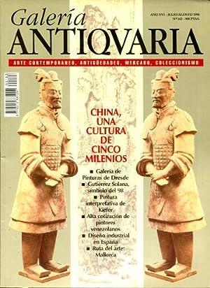 GALERIA ANTIQUARIA Nº 163, AGOSTO 1998. ARTE