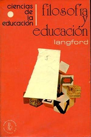 FILOSOFIA Y EDUCACION.: LANGFORD, Glenn.