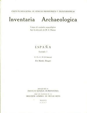 INVENTARIA ARCHAEOLOGICA. CORPUS DE CONJUNTOS ARQUEOLOGICOS BAJO: ALMAGRO, Martín.