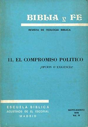BIBLIA Y FE, REVISTA DE TEOLOGIA BIBLICA.