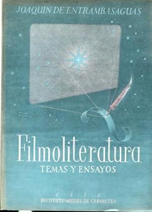 FILMOLITERATURA (TEMAS Y ENSAYOS).: ENTRAMBASAGUAS, Joaquín de.