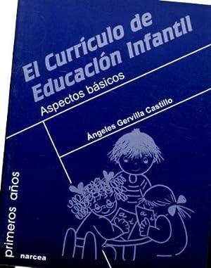 EL CURRICULUM DE EDUCACION INFANTIL. ASPECTOS BASICOS.: GERVILLA CASTILLO Angeles.