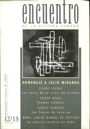 ENCUENTRO DE LA CULTURA CUBANA Nº 12-13.