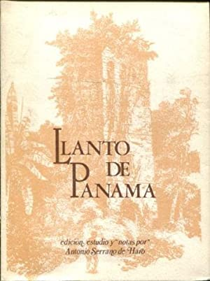 LLANTO DE PANAMÁ A LA MUERTE DE DON ENRIQUE ENRÍQUEZ.