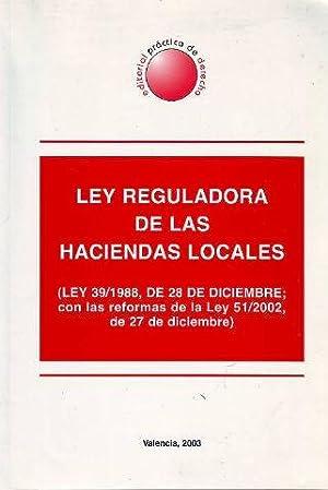 LEY REGULADORA DE LAS HACIENDAS LOCALES (LEY