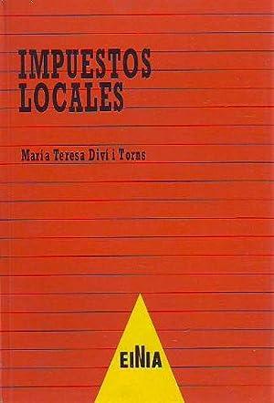 IMPUESTOS LOCALES. NUEVA LEY 39/1988, DE 28: DIVI I TORNS,