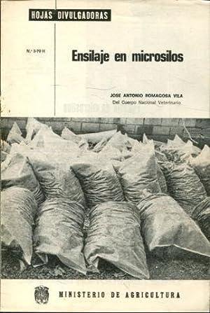 ENSILAJE EN MICROSILOS.: ROMAGOSA VILA, Jose Antonio.