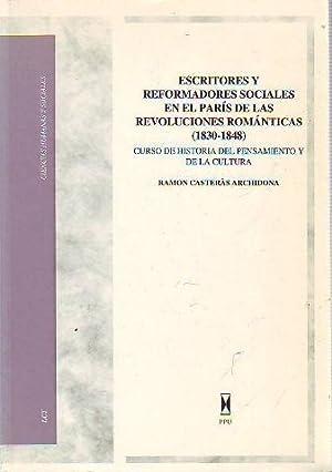 ESCRITORES Y REFORMADORES SOCIALES EN EL PARIS: CASTERAS ARCHIDONA, Ramon.