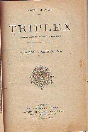 TRIPLEX.: D'IVOI, Paul.