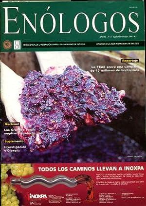 ENOLOGOS. REVISTA OFICIAL DE LA FEDERACION ESPAÑOLA DE ASOCIACIONES DE ENOLOGOS. Nº 31.