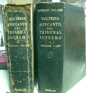 DOCTRINA MERCANTIL DEL TRIBUNAL SUPREMO.