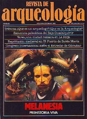 REVISTA DE ARQUEOLOGIA. Nº 82. MELANESIA. PREHISTORIA VIVA.