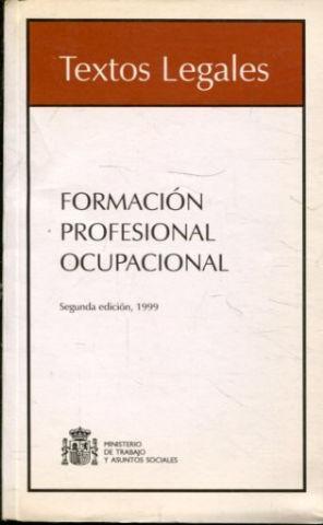FORMACION PROFESIONAL OCUPACIONAL.