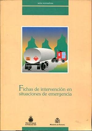 FICHAS DE INTERVENCION EN SITUACIONES DE EMERGENCIA.