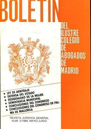 BOLETIN DEL ILUSTRE COLEGIO DE ABOGADOS DE