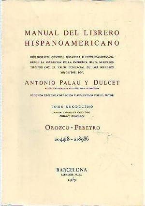 Manual del librero hispanoamericano abebooks - Libreria hispanoamericana barcelona ...